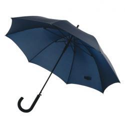 """Preiswertester automatischer Windproof-Stockschirm """"Wind"""" marineblau"""