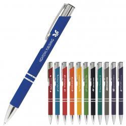 """Kugelschreiber """"Crosby"""" mit gummierter Oberfläche Farbe auswählen"""