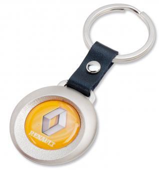 """Metall-Anhänger mit 3D-Logo """"rund"""""""