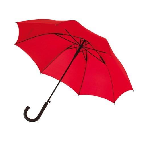 """Preiswertester automatischer Windproof-Stockschirm """"Wind"""" rot"""