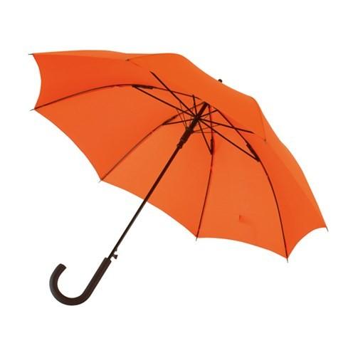 """Automatischer Windproof-Stockschirm """"Wind"""" orange"""
