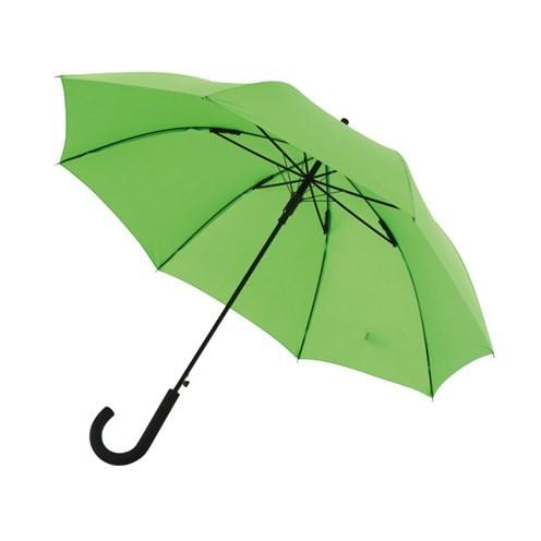"""Preiswertester automatischer Windproof-Stockschirm """"Wind"""" hellgrün"""