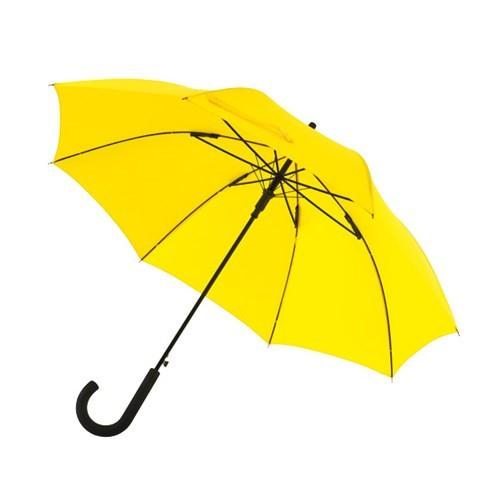 """Preiswertester automatischer Windproof-Stockschirm """"Wind"""" gelb"""