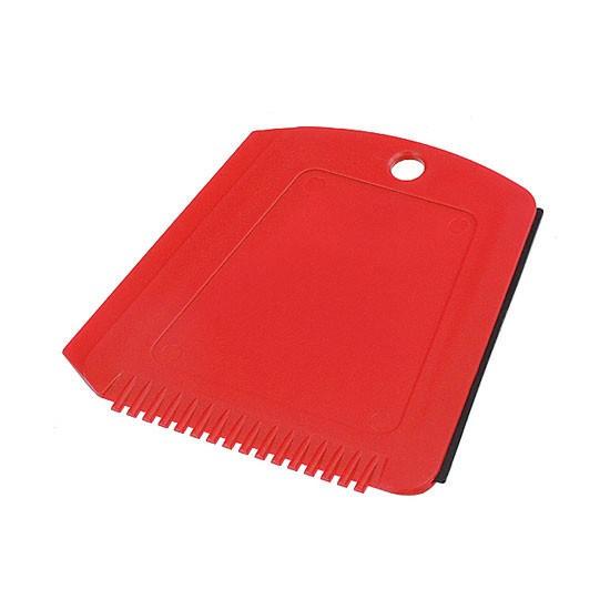 Eiskratzer in Trapezform rot