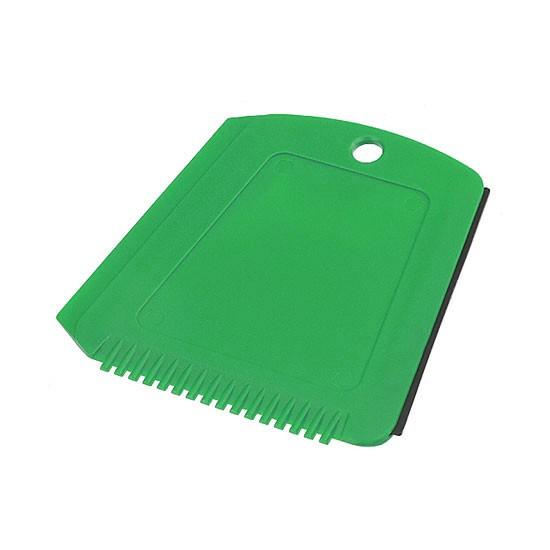 Eiskratzer in Trapezform grün