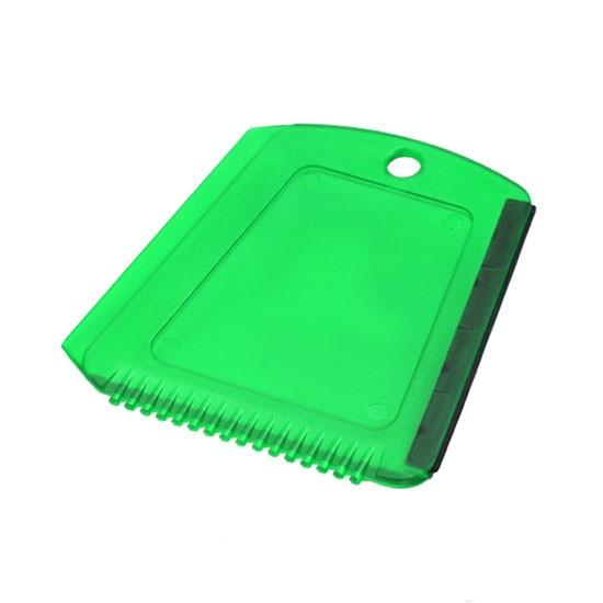 Eiskratzer in Trapezform grün-transparent