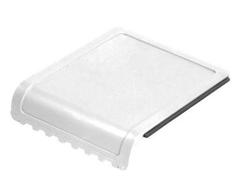Eiskratzer mit besonders großer Druckfläche weiß