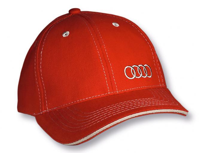Basecaps mit Bestickung & in 100 Farbvarianten rot