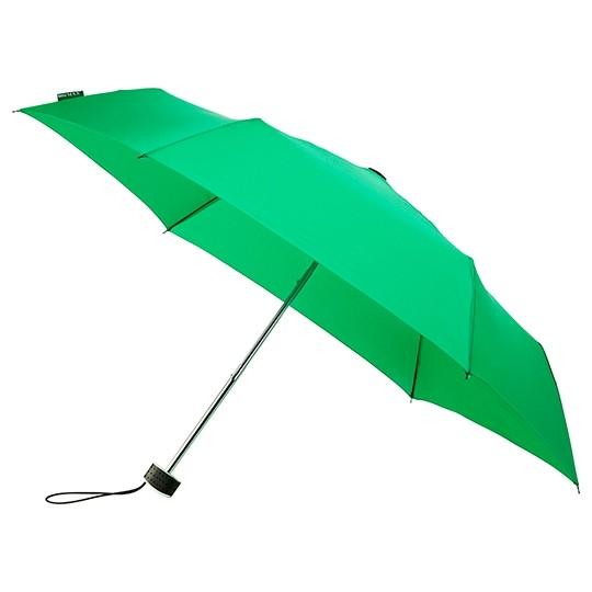 Flacher Taschenschirm miniMax - windsicher Taschenschirm grün