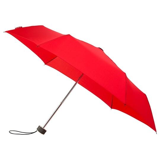 Flacher Taschenschirm miniMax - windsicher Taschenschirm rot
