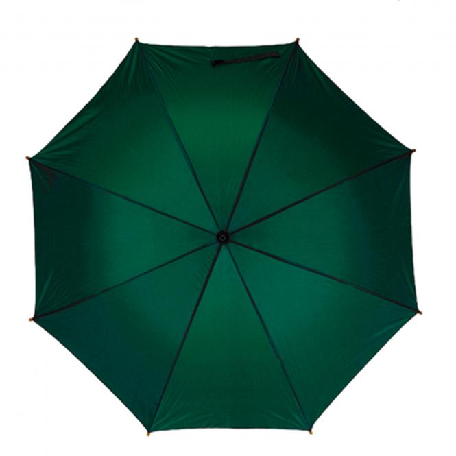 Golfschirm mit Metallstock und Tragefutteral dunkelgrün