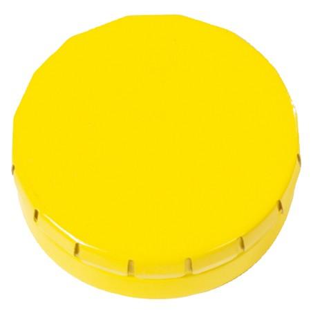 Mini Klick-Klack Dose gelb