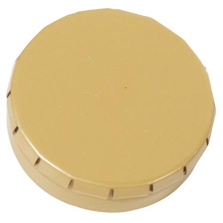 Mini Klick-Klack Dose gold