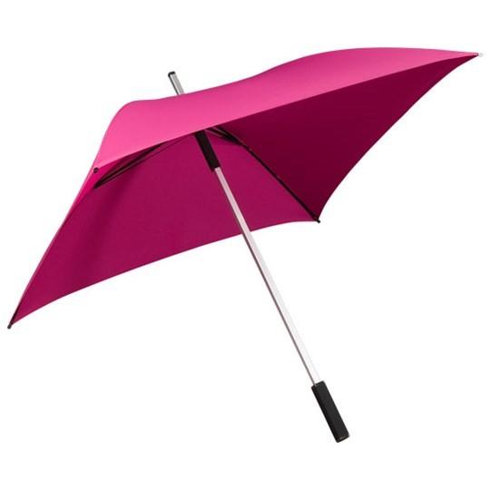 """Quadratischer Regenschirm """"All Square"""" rosa"""
