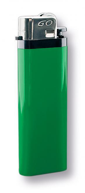 """Reibrad Feuerzeug """"GO"""" grün"""