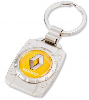 """Metall-Anhänger mit 3D-Logo """"Bullauge"""""""