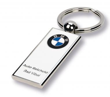 Schlüsselanhänger BMW Schlüsselanhänger BMW (weiß/silber)