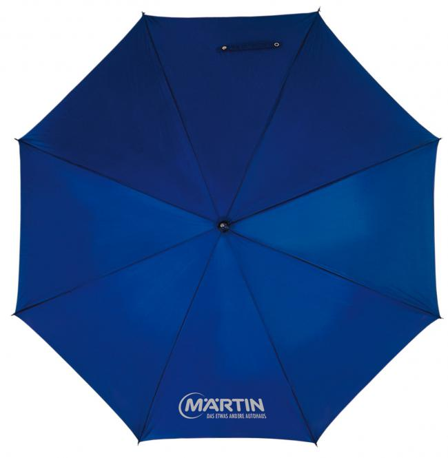"""Preiswerter Taschen-Schirm """"Regular"""" blau"""