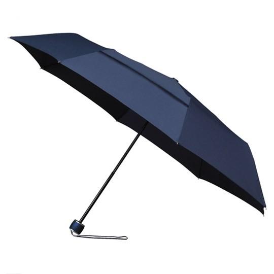 """Windsicherer Taschenschirm miniMAX """"ECO"""" mit Ökotuch & Windöffnung in Bespannung dunkelblau"""