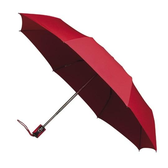 Taschenschirm miniMAX - auf-zu-Automatik (windsicher) rot