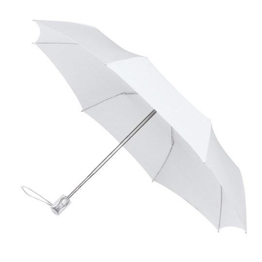 Taschenschirm miniMAX - auf-zu-Automatik (windsicher) weiß