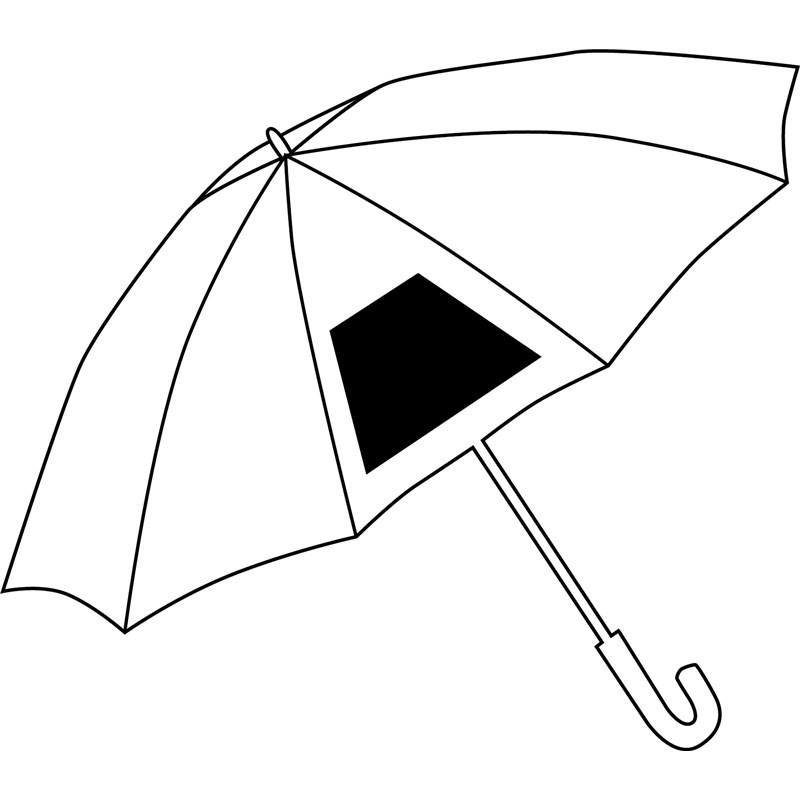 """Pearl Fleecepicknickdecke Mit Wasserabweisender: Automatik-Golfschirm """"Subway"""" Mit Gebogenem Moosgummigriff"""